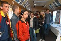 Preventivní vlak v Ostravě