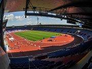 Městský stadion v Ostravě-Vítkovicích. Ilustrační foto.
