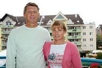 Luboš a Štěpánka Hilgertovi spolu žijí od roku 1986.