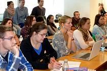 Snímek z přednášky Katedry evropské integrace Ekonomické fakulty Vysoké školy báňské - Technické univerzity v Ostravě.