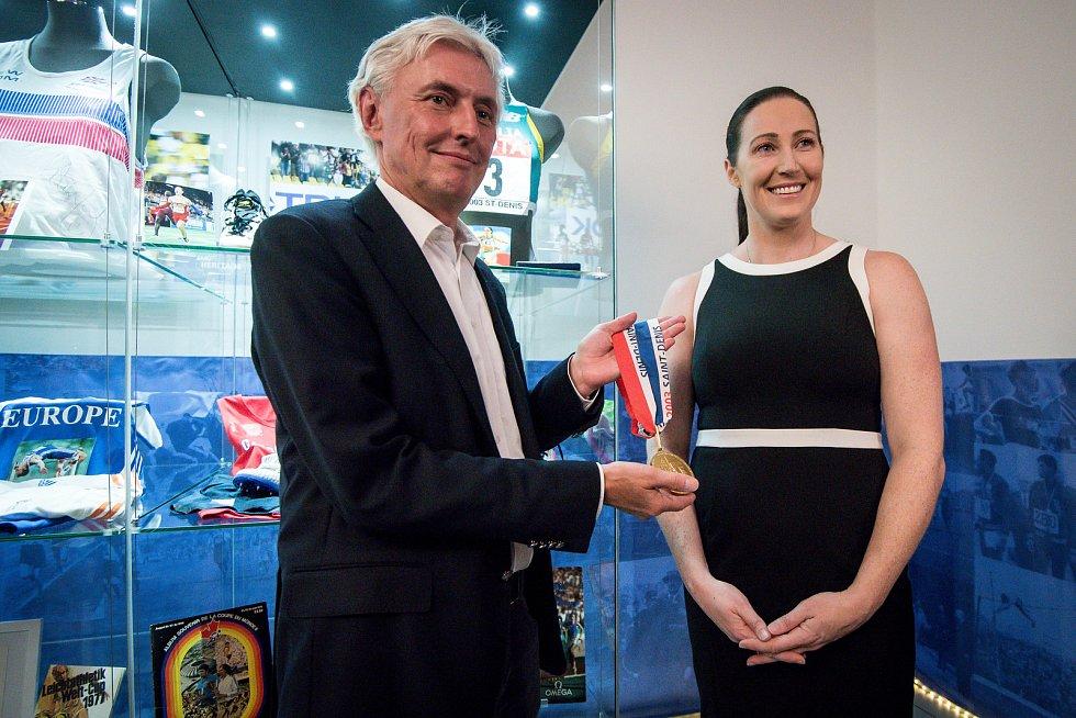 Zahájení výstavy ke Kontinentálnímu poháru v úterý 5. června 2018 v ostravském nákupním centru Forum Nová Karolina, který se bude konat začátkem září v Ostravě.