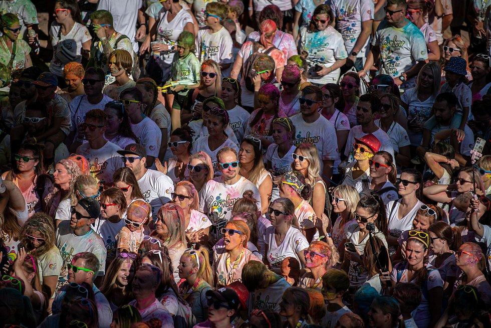 Rainbow Run v Dolní Oblasti Vítkovice, 11. zaří 2021 v Ostravě.