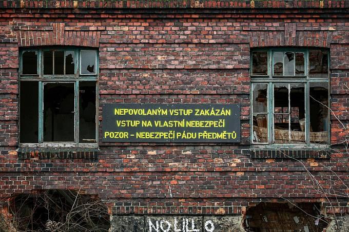 Přednádraží v Ostravě-Přívoze, únor 2017