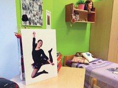 Takto vypadá jeden z pokojů ve fulneckém dětském domově.