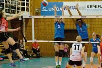 Ostravské volejbalistky dopluly do konce roku na vítězné vlně.
