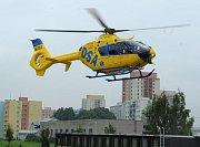 Nový vrtulník ostravských záchranářů