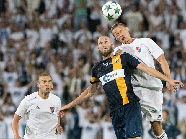 TOMÁŠ ZÁPOTOČNÝ odehrál derby s Opavou skvěle a přispěl k cenné výhře Baníku.