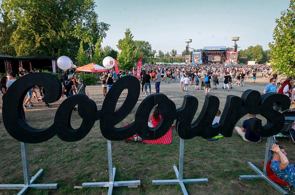 Colours of Ostrava 2018 v Dolních Vítkovicích, pátek 20. července 2018.