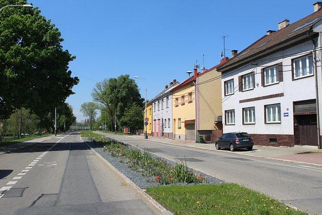 Lokalita UBoříka se stejnojmennou ulicí a hostincem.