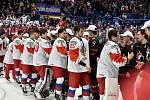 Mistrovství světa hokejistů do 20 let, finále: Rusko - Kanada, 5. ledna 2020 v Ostravě.
