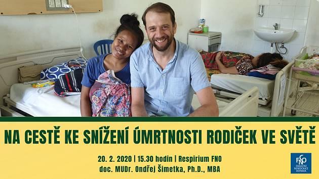 Přednosta Gynekologicko-porodnické kliniky Fakultní nemocnice Ostrava MUDr. Ondřej Šimetka.