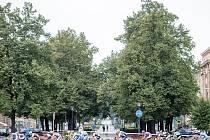 Memoriál Jana Veselého 2015 se konal v sobotu na Hlavní třídě v Ostravě-Porubě.