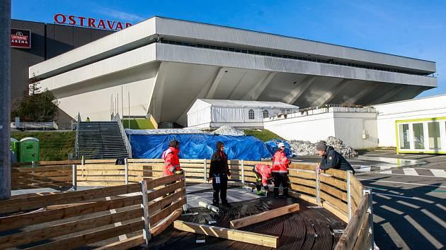 Okolí Ostravar Arény bude centrem Olympijského festivalu v Ostravě.