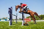 Jezdectví - Velká cena Ostravy (český skokový pohár), 18. května 2019 ve Staré Bělé. Na snímku Sergej Motygin.