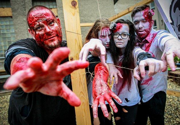 Zombie walk Ostrava.