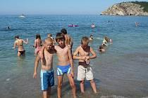Za zdravým vzduchem a sluníčkem odjelo v průběhu prázdnin několik turnusů dětí.