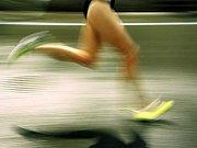 V hotelu Trilobit proběhlo vyhlášení ankety Atlet Jihočeského kraje pro rok 2008 (horní řada zleva):  Urban, Rizvanovič, Smetana, Zimmermann, Říčař, (dolní řada zleva): Šetelíková, Melichová, Sekanová, Chládková, Mikešová.