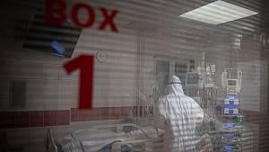Krajské nemocnice zaplňují koronaviroví pacienti