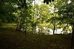 Jeden z rybníků, o který se Pavel Niedoba staral.