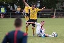 Krajský přebor, 3. kolo, sobota 22. srpna 2015 - Heřmanice - Kravaře 1:1 (0:1).