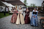 "Slavnosti na téma ""300 let Marie Terezie... Od Laudona po Napoleona"" na Slezskoostravském hradě."