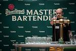 Soutěž výčepních Pilsner Urquell Master Bartende v Ostravě.