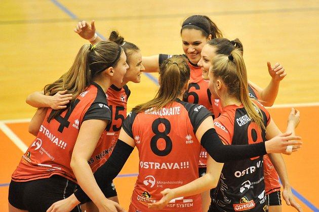 CHALLENGE CUP 2018: TJ Ostrava (CZE) - ŽOK Osijek (CRO), odvetné utkání 10. ledna v Ostravě.