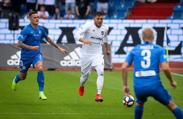 Utkání 1.kola FORTUNA:LIGY: FC Baník Ostrava - FC Slovan Liberec, 13.července 2019vOstravě.