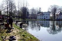 Zámecký rybník v Ostravě-Porubě