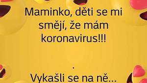 Lidové vtipy o koronaviru