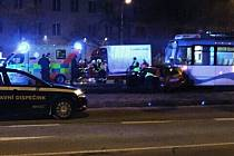 Nedělní nehoda v Ostravě-Jihu.