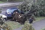 Následky bouře v Ostravě, 26 srpen 2019.