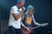 Z koncertu Deep Purple v Ostravě.