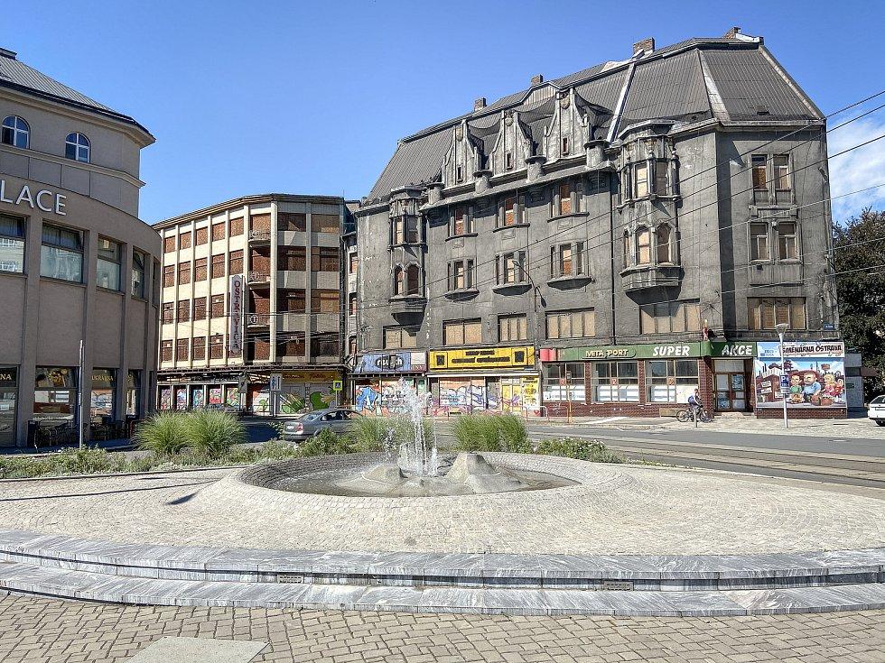 OSTRAVICA - srovnávací foto. Snímek ze srpna 2020.
