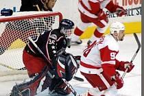 Martin Prusek při svém působení v NHL