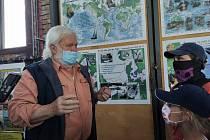 Mořeplavec Richard Konkolski vyprávěl malým vodákům