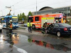 Páteční dopravní nehoda.