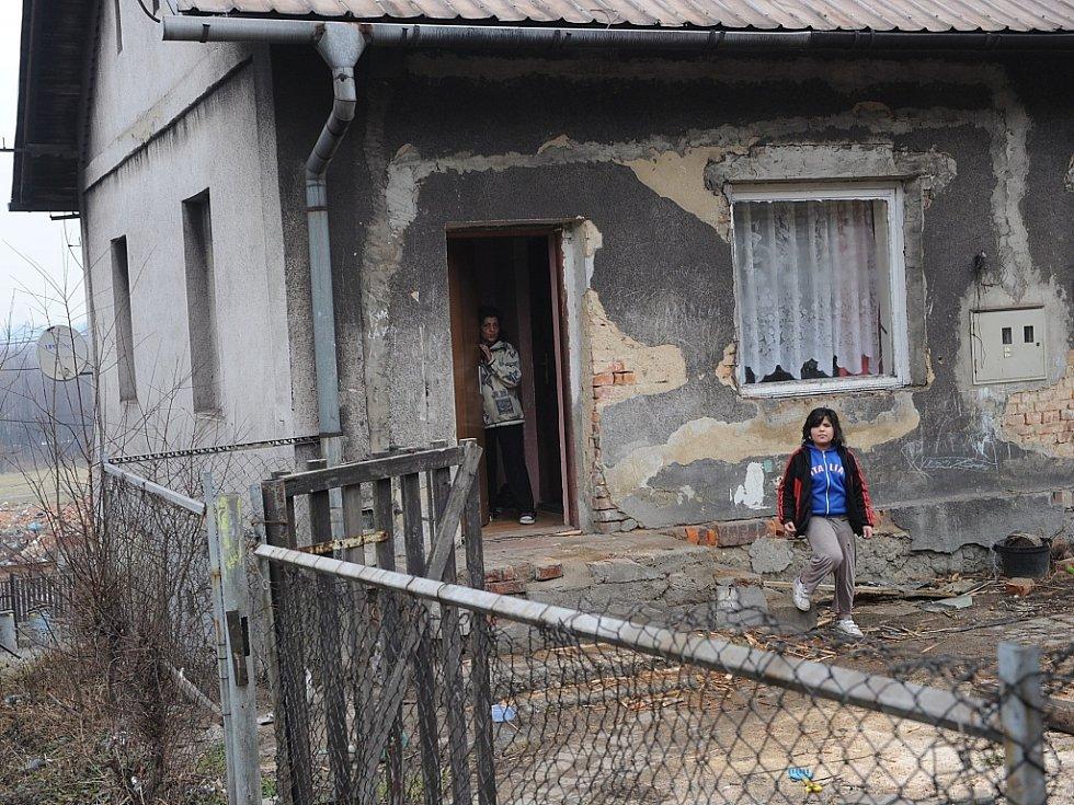 LIPINSKÁ KOLONIE. Nejstarší radvanická hornická kolonie byla kdysi luxusním bydlením. Dnes je lokalita na pokraji rozpadu.