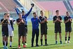Fotbalisté Baníku, leden 2020, zimní Malta Cup. Ilustrační foto.