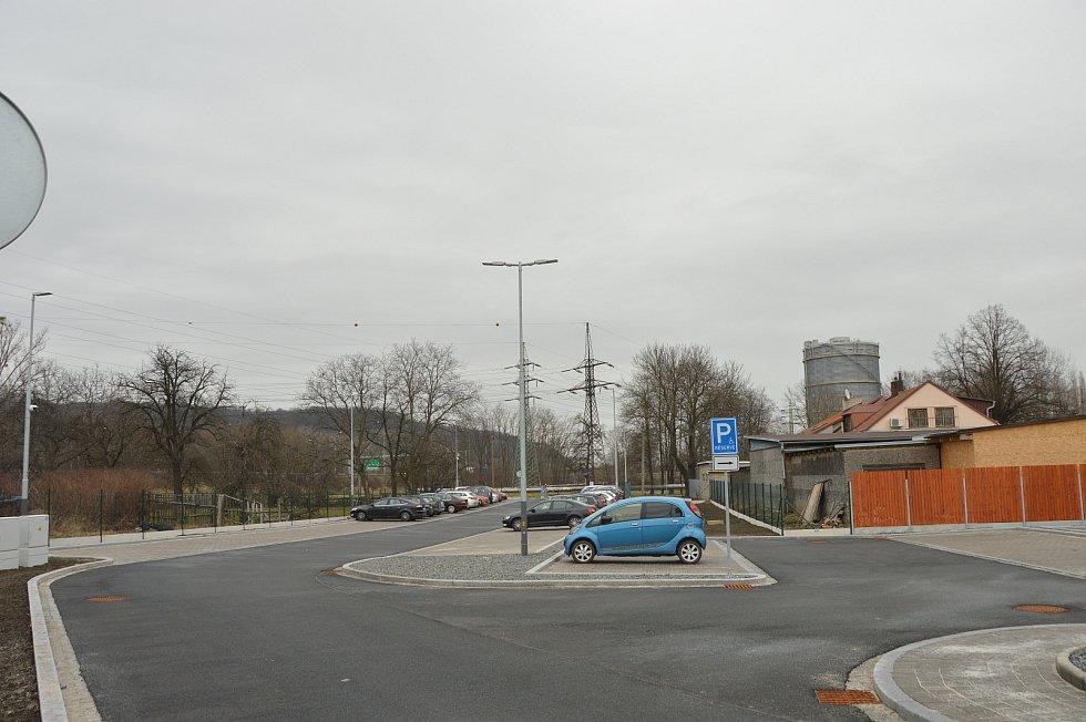Parkoviště – stav 23. března 2021.