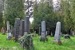 Židovský hřbitov v Opavě.