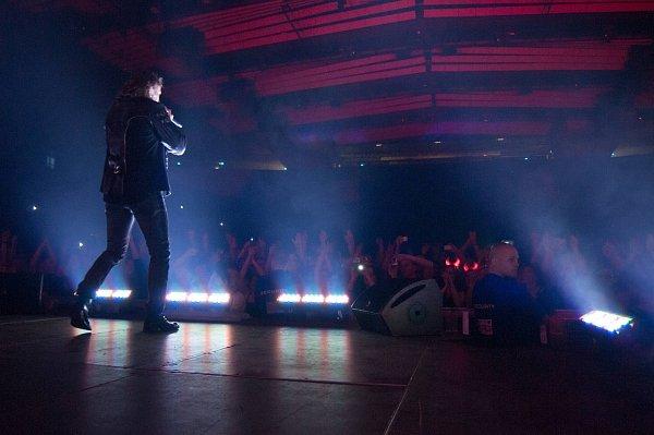 Skupina Kabát si na svém turné udělala zastávku také vostravské ČEZ Aréně.