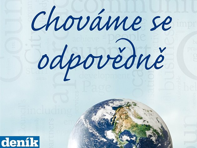 Tištěná příloha Deníku Chováme se zodpovědně byla zdarma součástí novinového výtisku 28. listopadu 2014.