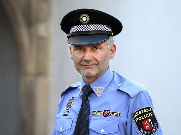 Jiří Klein, velitel Městské policie Nový Jičín