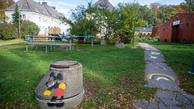 Lokalita Liščina a blízké okolí, 15.10.2019 v Ostravě. Nízkoprahové zařízení pro děti a mládež - Komunitní centrum Liščina.