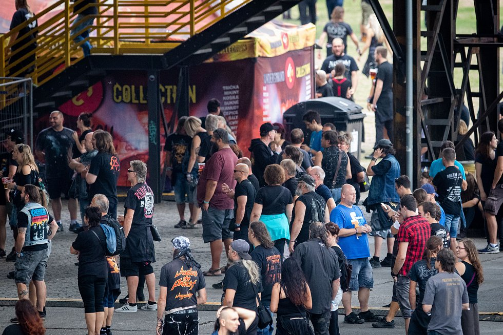 Festival Ostrava v plamenech, 3. srpna 2019 v Ostravě.