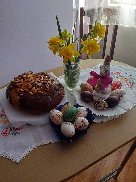 Výzva Velikonoce - výzdoba Pavly Kupkové