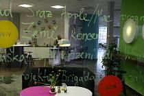 Coworkingové centrum má sloužit hlavně k získání inspirace, dobré nálady a pozitivního přístupu k životu.