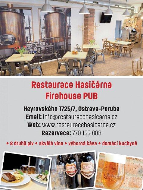 Firehouse PUB, Heyrovského 1725/7, Ostrava