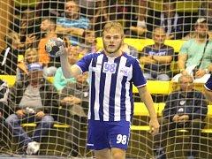 ODCHOVANEC úspěšné kopřivnické líhně Marek Bukovský je prozatím druhým nejlepším střelcem Kopřivnice, když si ve čtyřech utkáních připsal 19 branek.